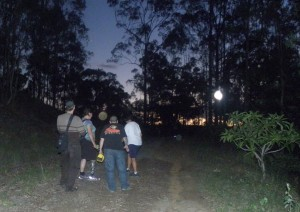 Spotlighting for gliders